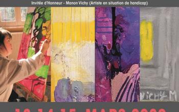 Expo INNER WHEEL ART SHOW à ORLÉANS 13-14-15 mars 2020