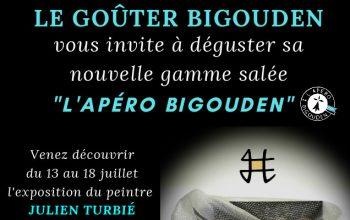 """Expo du 13 au 22 juillet 2020 """" Le Goûter Bigouden """" à Plonéour-Lanvern"""